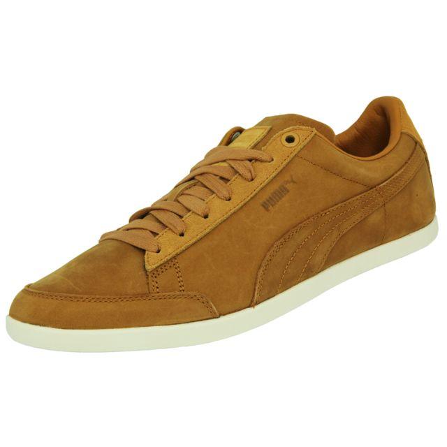 e013e8a22f5 Puma - Puma Catskill Citi Series Nubuck Chaussures Sneakers Mode Homme Cuir  Suede Marron