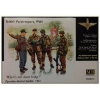 Master Box - Masterbox 3533 British Paratroops 1 1:35 Plastic Kit