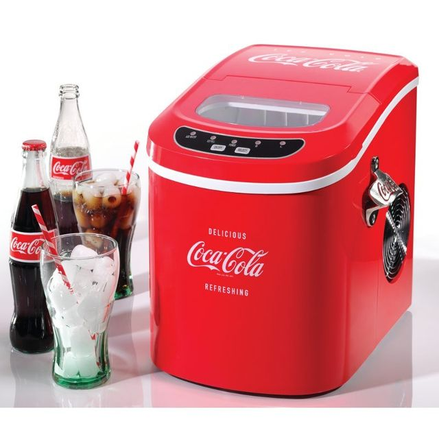 SIMEO Machine à glaçons Coca Cola CC500 - Siméo