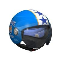 Edguard - Casque Blue Star Japan Rags Bleu Blanc