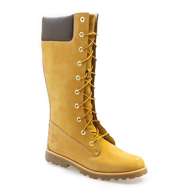 6dbc7ec8b4a Timberland - Asphalt Trail Cls Tall Kids Wheat Boots-UK 4 - pas cher Achat    Vente Baskets enfant - RueDuCommerce