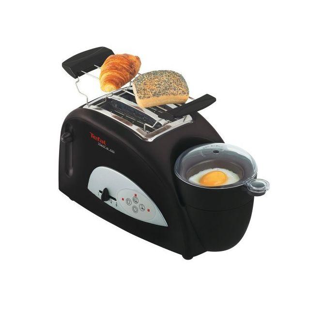 Tefal TT5500 Grille pain et oeufs sur le plat: