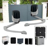 motorisation portail solaire achat motorisation portail solaire pas cher rue du commerce. Black Bedroom Furniture Sets. Home Design Ideas