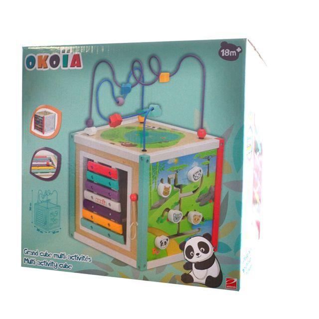 timeless design super cute watch Grand cube multi-activités