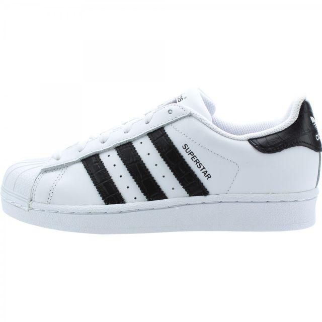 superstar junior adidas noir