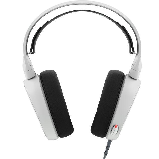 STEELSERIES Arctis 5 - Blanc Casque audio de gaming RVB Surround 7.1