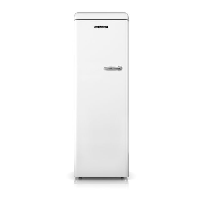 Schneider Sf235VW Congélateur armoire Vintage 235 litres - coloris blanc - A