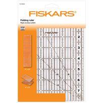 """Fiskars - Règle Acrylique pliable 6""""x24"""" / 15 x 61 cm"""