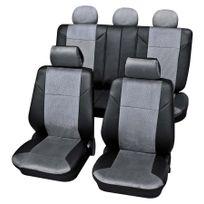 Petex - Housses de siège qualité Gris Foncé - Ford Orion Phase 3 1990-1994