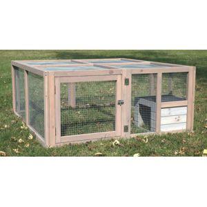 lifland deauville enclos bois lapin et cochon d 39 inde pas cher achat vente cage pour. Black Bedroom Furniture Sets. Home Design Ideas