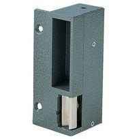 Eff Eff - Gache Electrique Applique Aluminium - Pour Serrure Verticale - Sens:Gauche - Mode:Emission / 2T - Tension:12 V