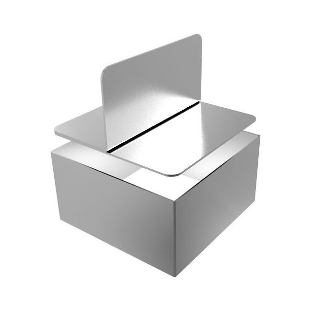 Guery 6 cadres carrés et poussoir 7.5 x 7.5 cm