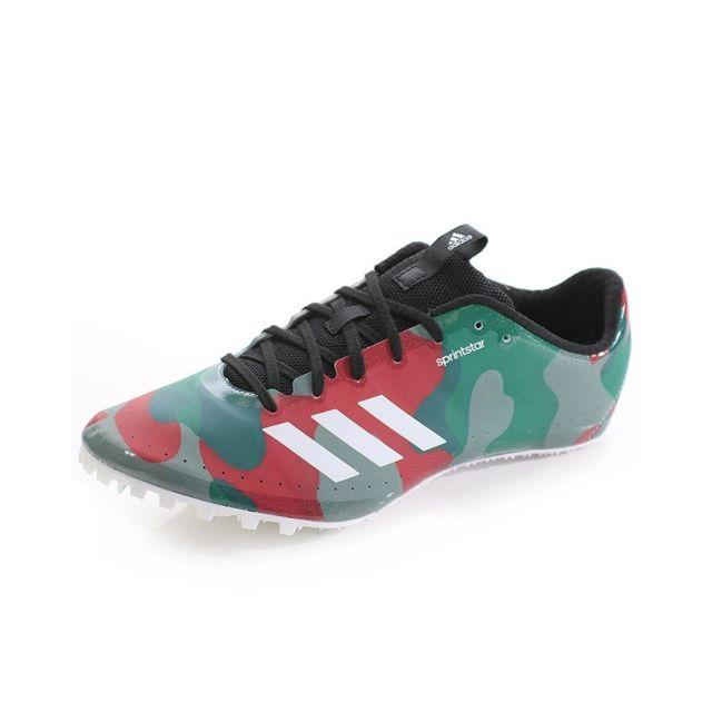 Chaussures Sprintstar Camouflage Athlétisme Homme Gris 49 13
