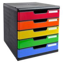 eaebeaad88382 Exacompta - Module de classement Modulo 10 tiroirs couleur - pas ...