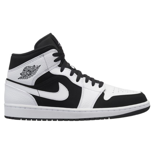 Nike Basket mode Air Jordan 1 Mid 554724113 Blanc pas