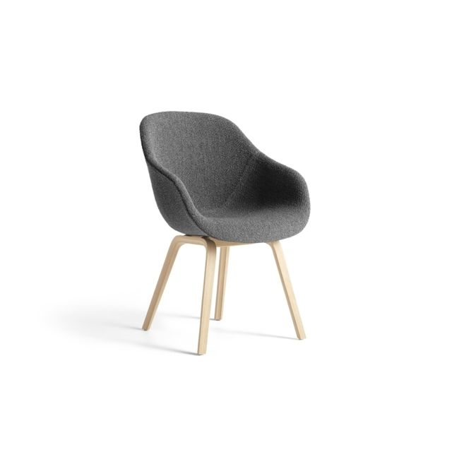 Hay About A Chair Aac 123 - Remix 163 - anthracite - chêne savonné