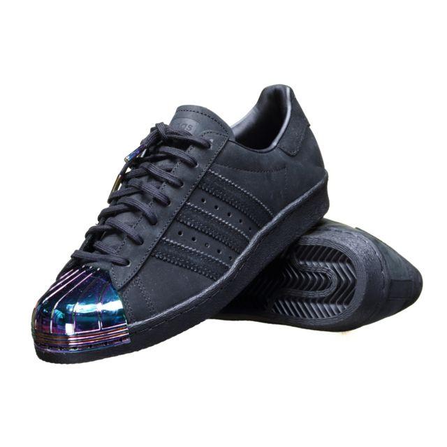 adidas superstar 80s metal toe w chaussures noir