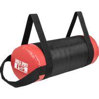Gorilla Sports - Fitness bag noir/rouge - Sac lesté 15kg