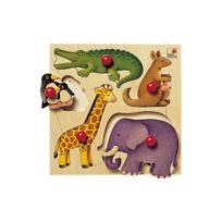 Selecta - Encastrement 5 pièces en bois : Zoo