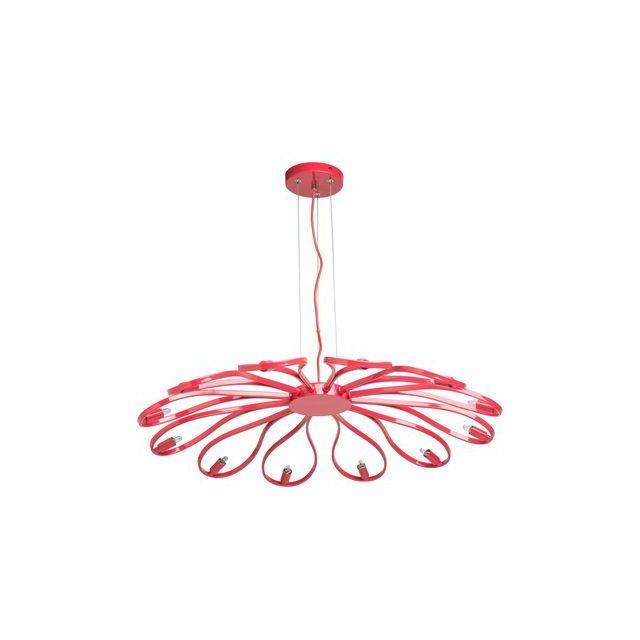 boutica design suspension rouge 1x40w kreis regenbogen 657010612 pas cher achat vente. Black Bedroom Furniture Sets. Home Design Ideas