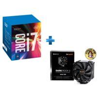 INTEL - Ventirad pour processeur BE QUIET Dark Rock 3 + Processeur Core i7-7700K 4.20GHz LGA1151 - KABYLAKE