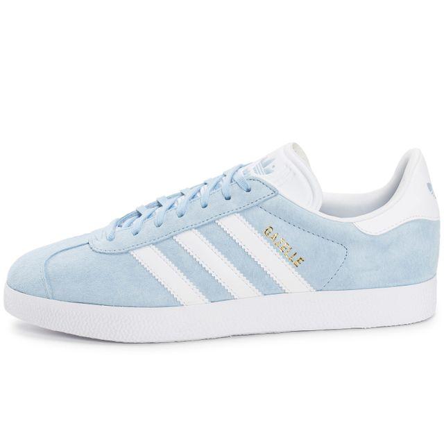 basket gazelle adidas femme bleu