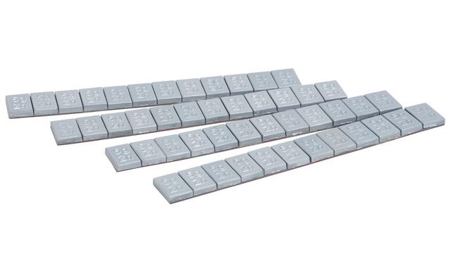 ks tools masse d 39 quilibrage jante alu en zinc barette de 12x5g boite de 50 pi ces 1004125. Black Bedroom Furniture Sets. Home Design Ideas
