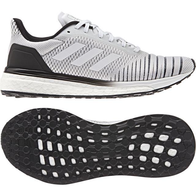 Adidas - Chaussures femme Solar Drive blanc/blanc/noir - 36 ...