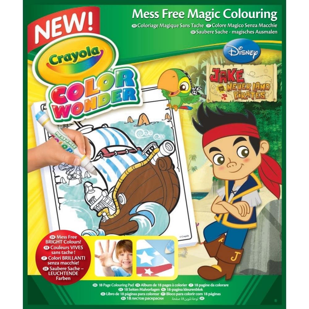 Album à colorier Jake le Pirate Color Wonder