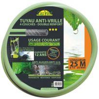 Cap Vert - Tuyau d'arrosage anti-vrille Ø 19 mm Long. 25 m - 509937