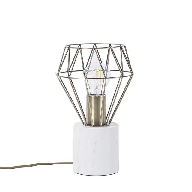 Petite lampe couleur laiton MOONI