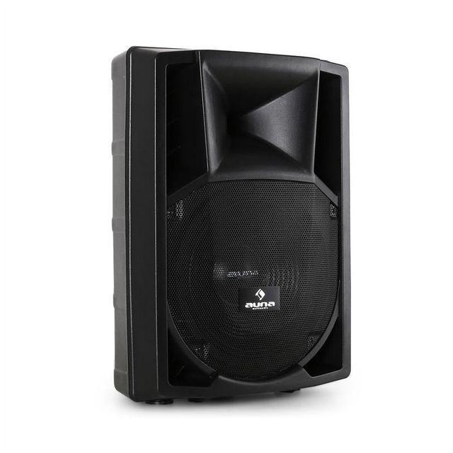 MALONE PP-2212A Pack enceintes actives PA sono DJ subwoofer 30cm AUX 550W