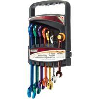 Draper Tools - Jeu de clés mixtes à cliquet sept pièces 15394