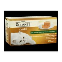 Kitchen Cook - Gourmet Gold Terrine - Pour chat - 4x85g