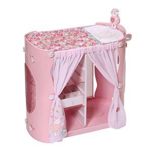 baby annabell commode 2 en 1 table langer avec rangements pour poupon 46 cm pas cher. Black Bedroom Furniture Sets. Home Design Ideas
