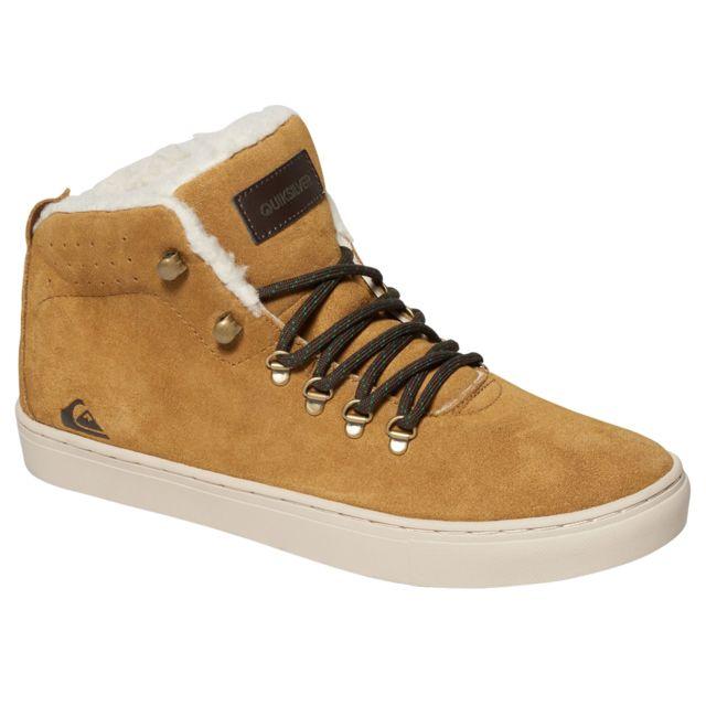 c57288df9c978 Quiksilver - Jax Chaussure Homme - Taille 45 - Marron - pas cher ...