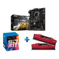 INTEL - Kit evolution i7 7700K + Z270 A PRO + 16 Gb DDR4