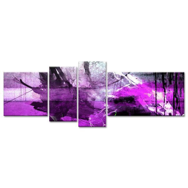 Merveilleux Declina   Peinture Abstraite Sur Toile Imprimée   Décoration Murale   Pas  Cher Achat / Vente Tableaux, Peintures   RueDuCommerce