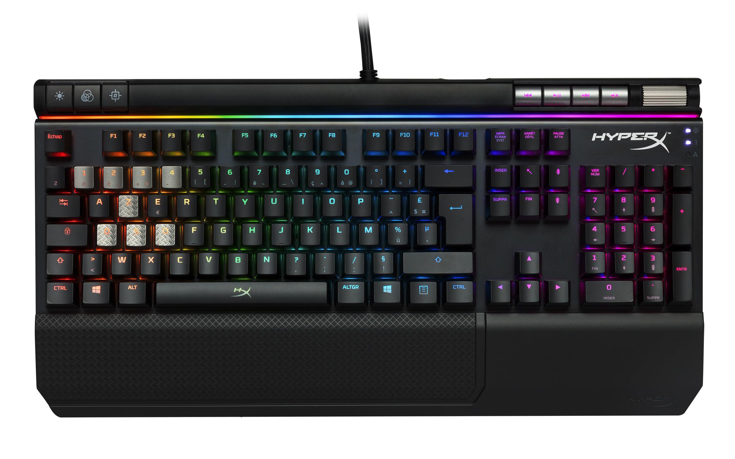 Clavier Gaming Alloy Elite RGB