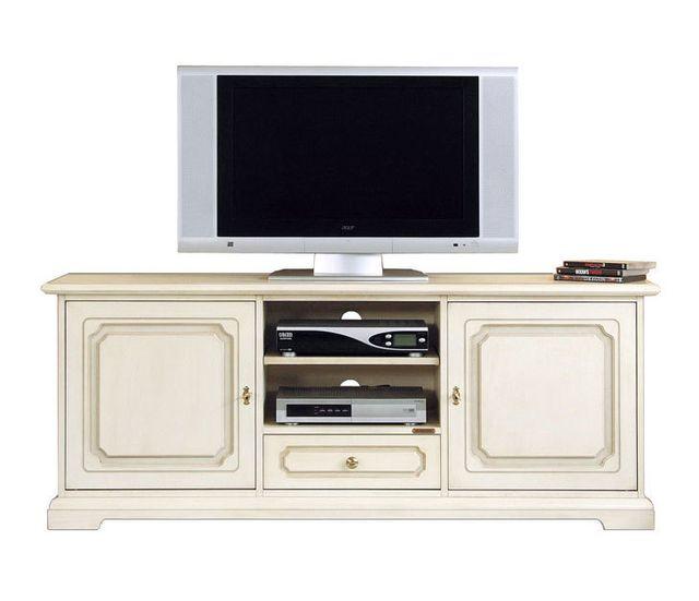 Arteferretto Meuble banc tv classique 150 cm largeur