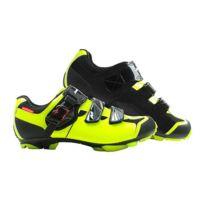 Massi - Chaussures Akkron Dual Neon jaune fluo noir