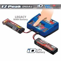 Traxxas - Chargeur Rapide Double Sortie Lipo/Nimh iD 100W 2972G
