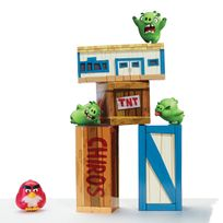 ANGRY BIRDS - Chamboule-tout geant - 6027801