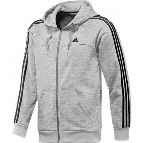 Adidas originals Veste Essentials 3S Lifzhood Gris Homme