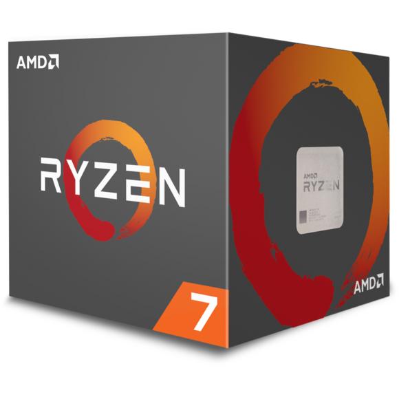 Ryzen 7 2700X Wraith Prism Edition - 3,7/4,3 GHz