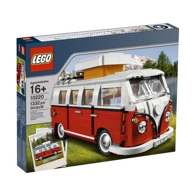 Lego Exclusivite 10220 Le Camping Car Volkswagen T1 Lego Exclusivite 10220 Le Camping Car Volkswagen T1