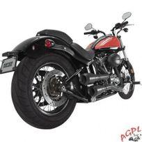 Honda - Harley Davidson Fxs / Fxst / Fls / Flst-silencieux Echappement Vance Hines Hi-output Grenades-black-1800-1766