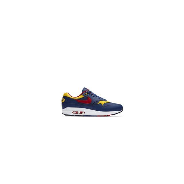 new arrivals ace5c 5925d Nike - Air Max 1 Premium - 875844-403 - Age - Adulte, Couleur - Bleu, Genre  - Homme, Taille - 46 - pas cher Achat   Vente Baskets homme - RueDuCommerce
