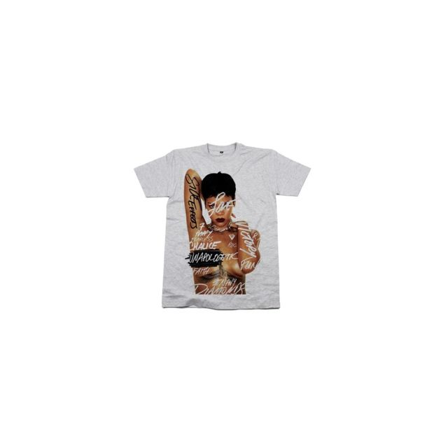 Magiccustom - Magic custom - Tshirt Femme Rihanna Unapologetic - pas ... 0c697cb107a