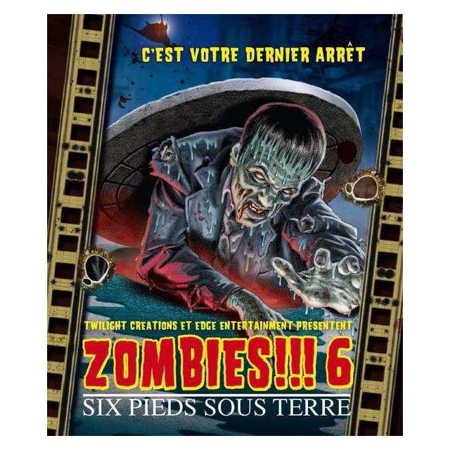 Edge Jeux de société - Zombies 6 Vf : Six Pieds Sous Terre